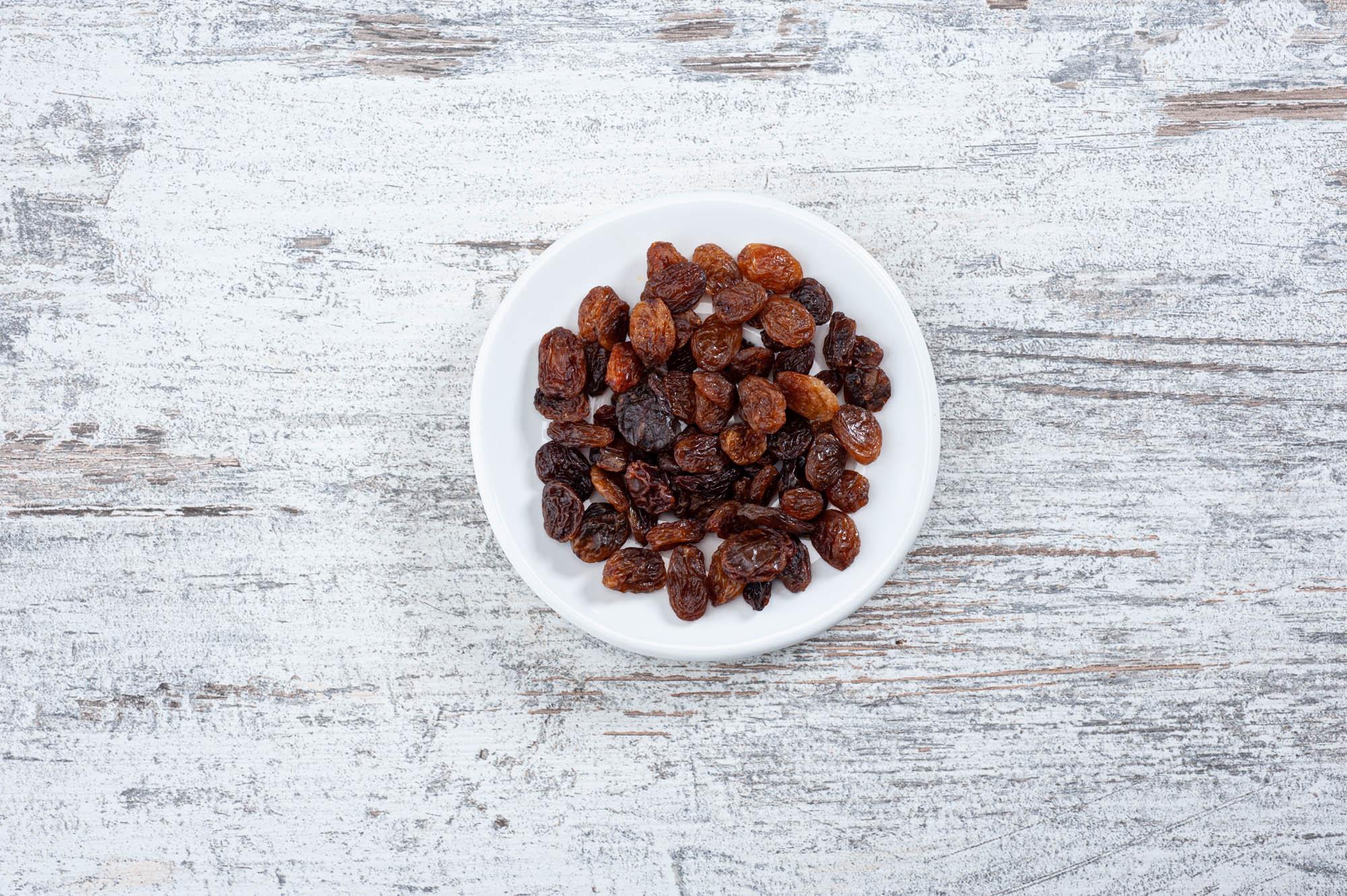 Sultanas, dried fruit