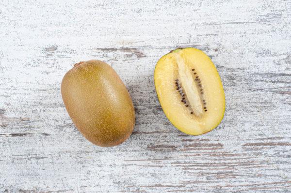 Golden kiwi, exotic fruit