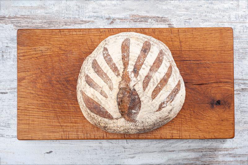 large brown sourdough break bara bakehouse