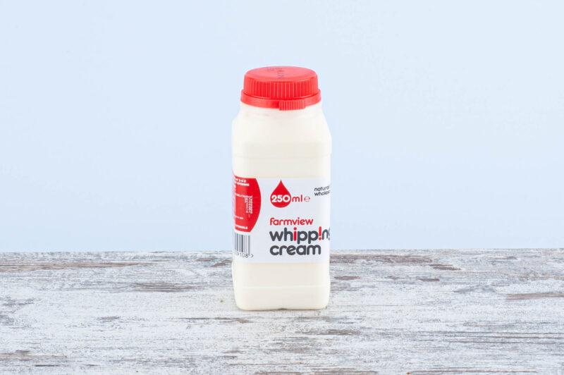 whipping cream, dairy