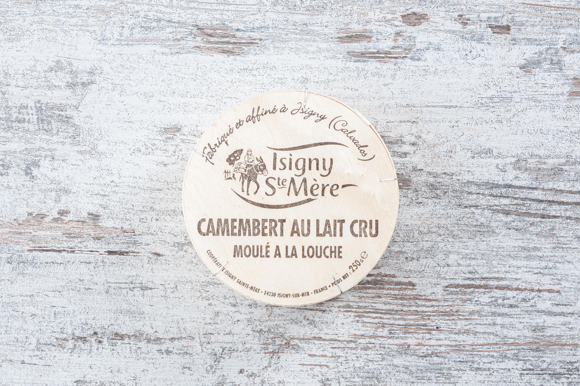 camembert au lait cru cheese